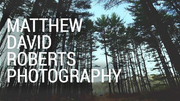 Matthew David Roberts Photography - Video Demo Reel