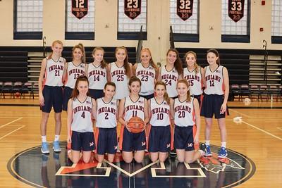 MHS JV Girls Basketball