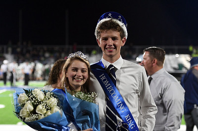Crowning the King and Queen (Friday, September 28, 2018)