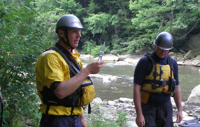 2007-08-20 Appalachian Wilderness Medicine, Swiftwater Rescue