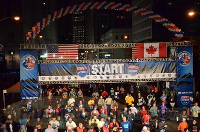 Start, Gallery 3 - 2015 Detroit Marathon