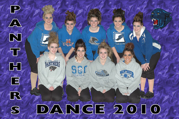 St Croix Central HS Dance Team - 2010
