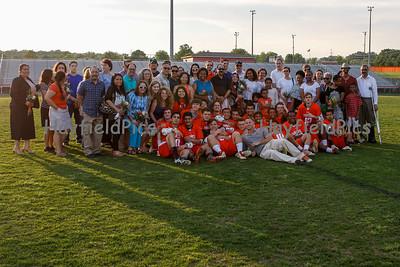 Boys Lacrosse Senior Night 5/8/15