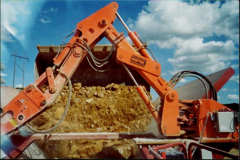 NPK B050 pedestal boom system with E204 hydraulic hammer.JPG