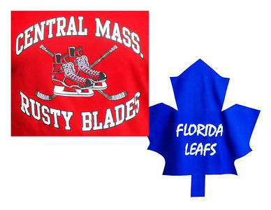 70s Florida Leafs vs Central Mass Rusty Blades