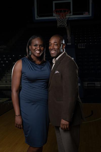 Daynia and Eddie - Ryan Center
