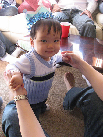 Caleb's 1st Birthday Party