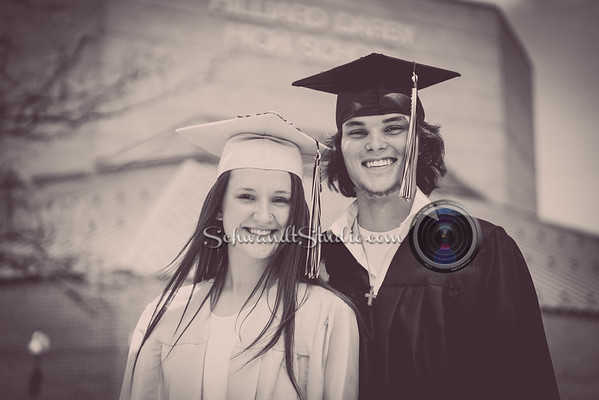 Nick and Lilly Grad Photos