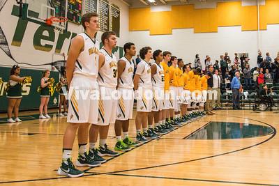 Boys Varsity Basketball:  Briar Woods vs Loudoun Valley 12.01.2015 (by Michael Hylton)