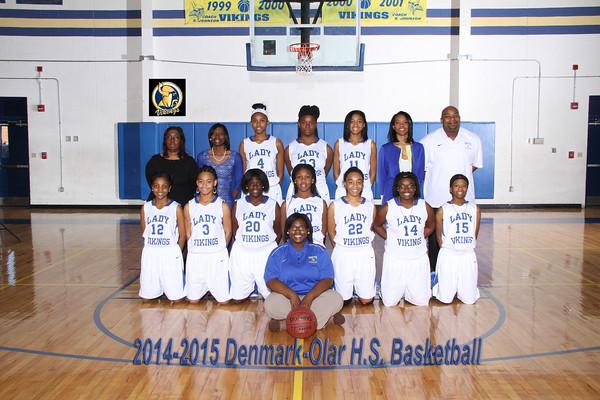 2014-2015 Varsity basketball girl