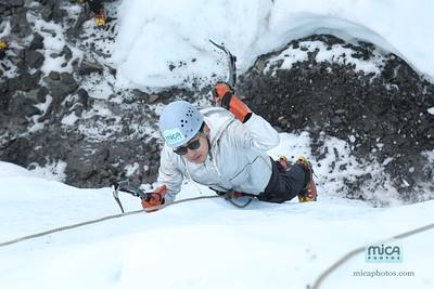 Brett and Axel - Ice Climb