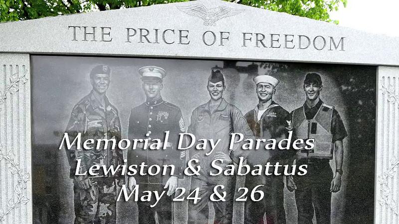 Lewiston and Sabattus celebrate Memorial Day 2014.m4v