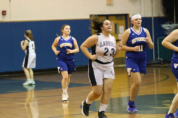 SLC MOD GIRLS 7TH BASKETBALL/ GOUVERNEUR