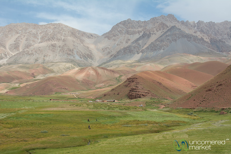 Layer Upon Layer of Mountains - Alay Mountains, Kyrgyzstan