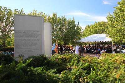 Leonia Bergen County Sept. 11, 2016 memorial service