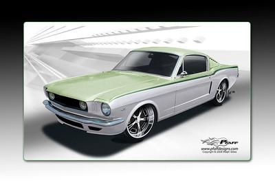 1966 Mustang Fastback Custom