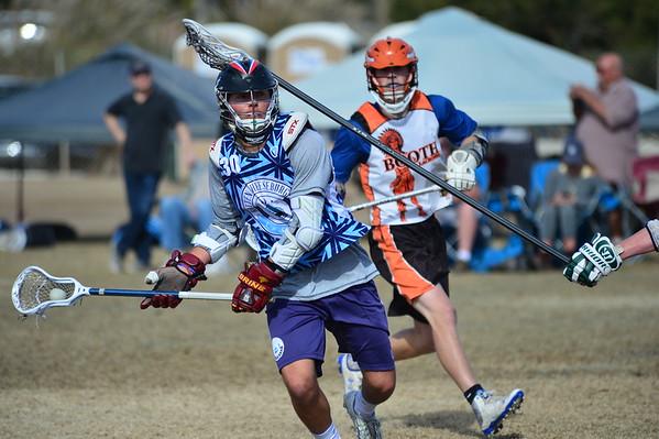 RC Elite Silver vs Booth Lacrosse 2017, 1-2-16