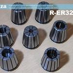 SKU: R-ER32/SET, ER32 Collet Standard Set, 3,4,6,8,10,12mm and 1/2 inch Each (7 Collets)