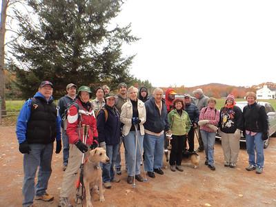 November 1 Saturday Hike