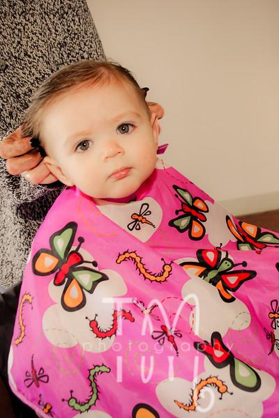 Taryn's First Haircut | {3.19.11}