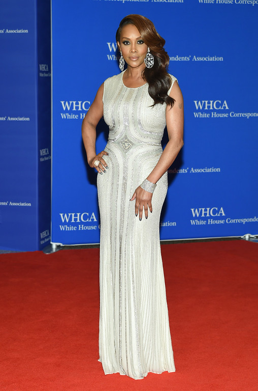 . Vivica A. Fox arrives at the White House Correspondents\' Association Dinner at the Washington Hilton Hotel on Saturday, April 30, 2016, in Washington. (Photo by Evan Agostini/Invision/AP)