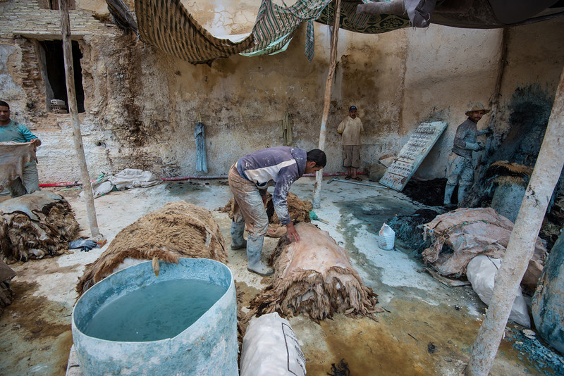 Tanneries - Fes Morocco