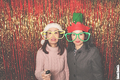 12-15-17 Atlanta Chihade International Inc Photo Booth - Christmas Party Lunch - Robot Booth