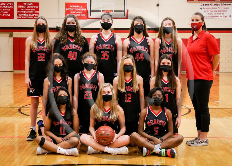 2021 LHJH Girls Basketball