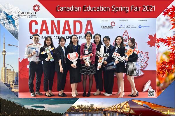 Canadian Education Fair 2021 instant print photo booth @ Meliá Hanoi | Chụp hình in ảnh lấy ngay Hội thảo du h�c Canada | Ha Noi Photo Booth Vietnam