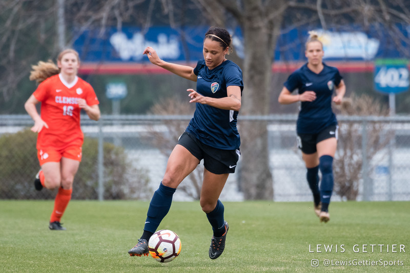 NWSL Preseason - NC Courage vs Clemson