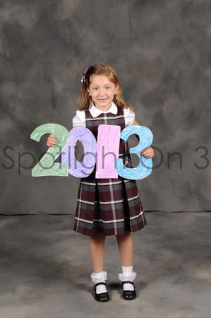 St. Benedict's Kindergarten Graduation - June 5, 2013
