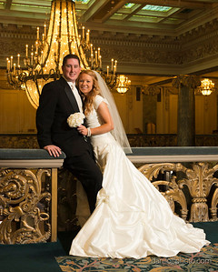 Jill Morrill - Zach Dastrup - Bride & Groom Portrait