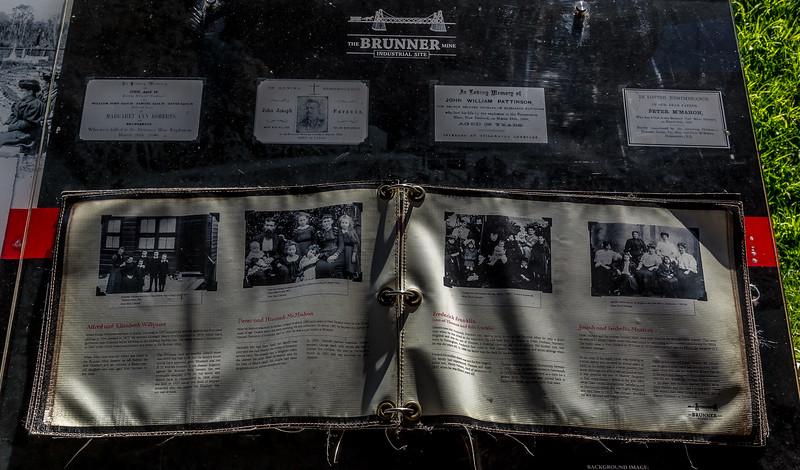«Brunner Industrial Site» (Kohlebergbau): Einzelschicksale des Grubenunglücks von 1896 das 65 Tote forderte