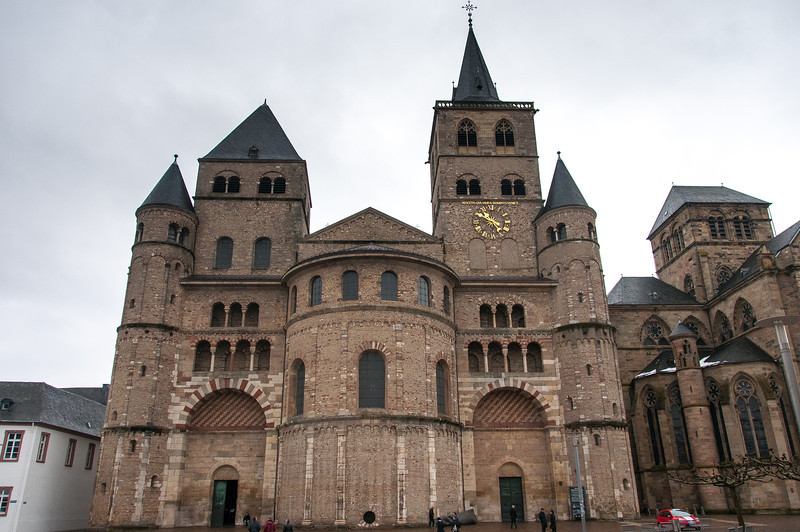 Liebfrauenkirche - one from oldest Gothic church in Trier, Germany