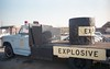 Station M 1984 bomb squad truck