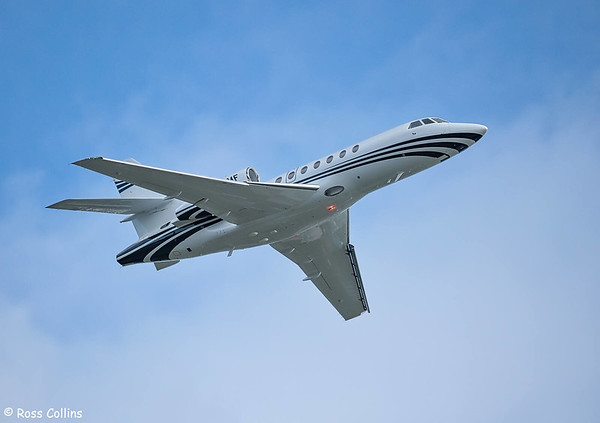 Dassault Falcon 50 N115MF at Wellington 2019