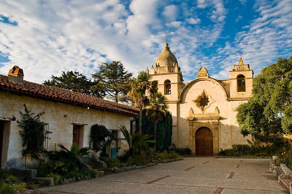 San Carlos Borromeo de Carmelo Mission 12.28.08