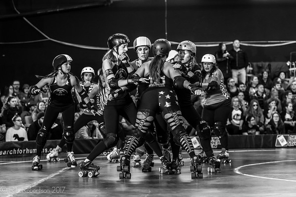 2017/01/14 Rat City Rollergirls Season Opener Bout 1