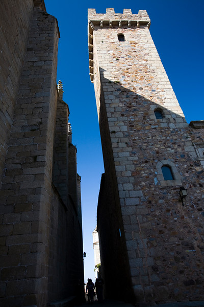 Tower of the Storks, Caceres, Spain