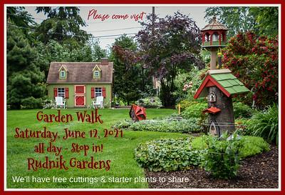 Rudnik Gardens Open House  6/12/21