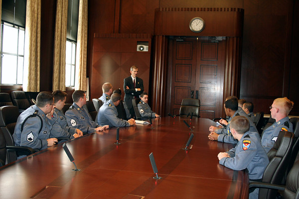 AP Gov't Class Visits State Capitol