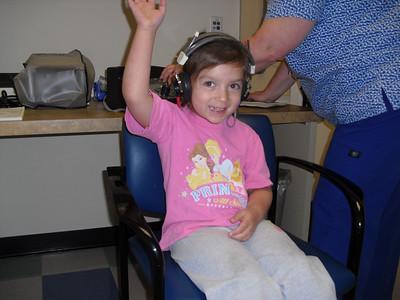 Kelli's 5 year old Checkup