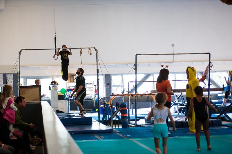 Boys Halloween Gymnastics Meet 2016