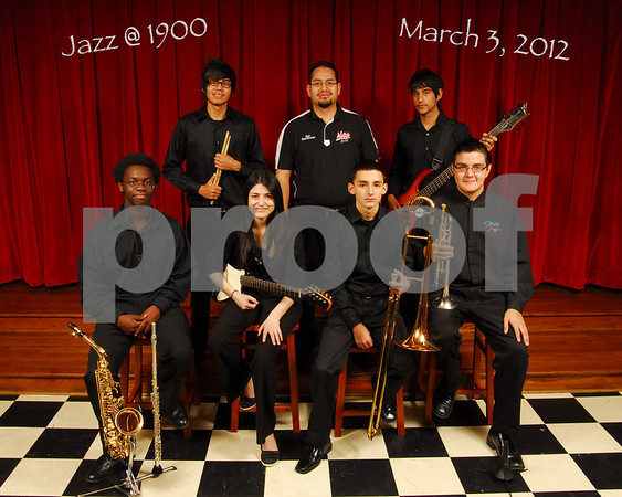 Waltrip Jazz Fest 2012 Group Photos