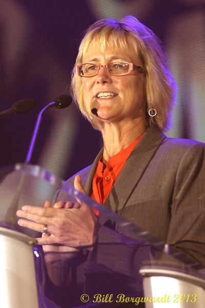 Jackie Rae Greening - Co-chair Edmonton host committee -  Industry Lunch