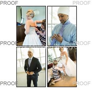 Tina & Sukh Singh Wedding Album Proof