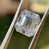 3.10ct Vintage Emerald Cut Diamond, GIA H VS1 33