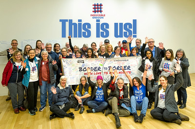 Oregon Indivisible Gathering in Eugene