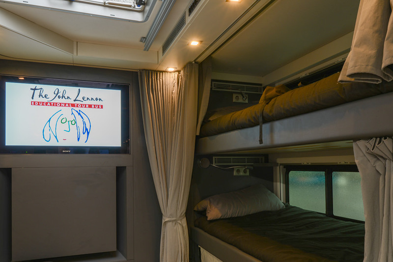Lennon Bus Europe - Bunks