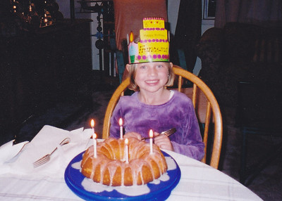 2002: Scanned Francesca Bday 5th (November 2002)